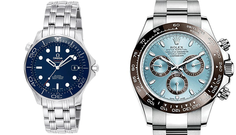 omega vs rolex watching elegance